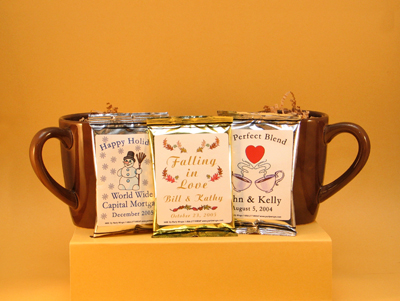 hot chocolate cocoa favors