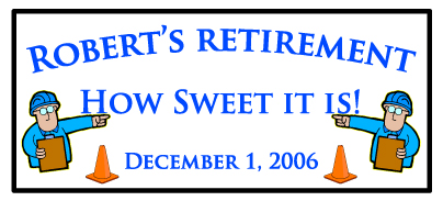 Retirement Favors